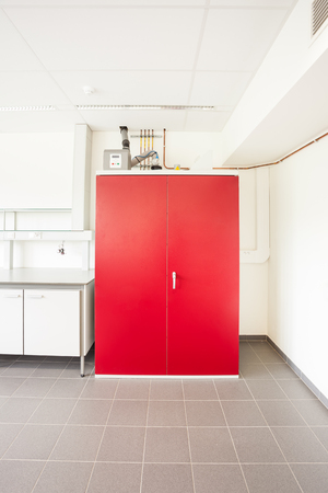 safety Gas cylinder cabinets for indoor storage for lab