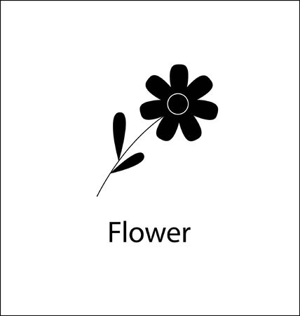 Flower vector icon. Flower icon for web and app. Flower sign on white background