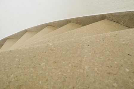 in an old building is located this beautiful staircase