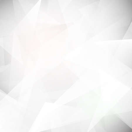 Low polygon White abstract background, Vector illustration
