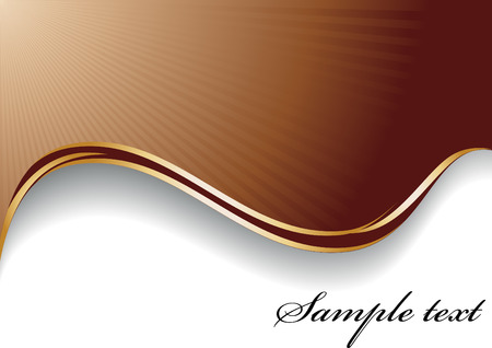 abstract chocolate background; clip-art Stock Vector - 4356610