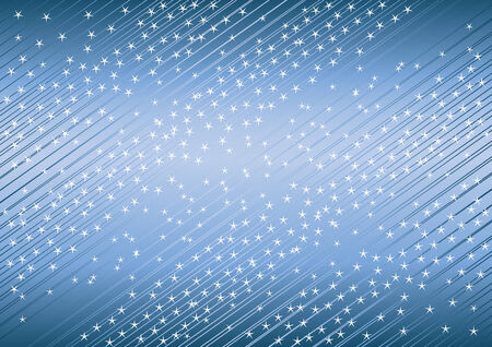 creative background from star; clip-art Vector