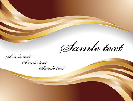 vector chocolate banner; clip-art