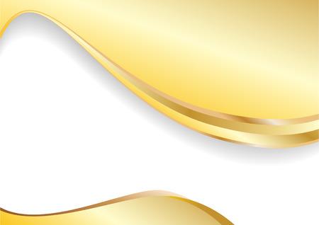 vector gold background; clip-art Illustration