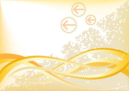 Vector tech background; clip-art Vector