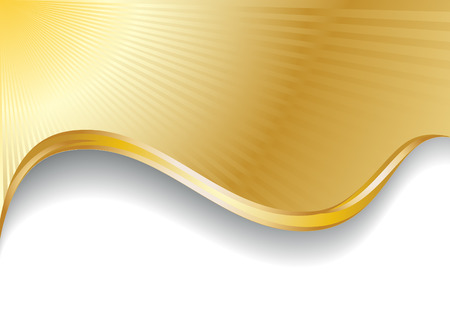 Vector gold background; clip-art Vector