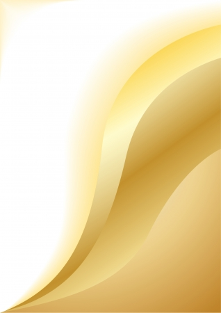 vector clipart: Vector abstract gold background; clip-art