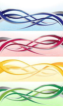 Vector bright banner; clip-art Vector