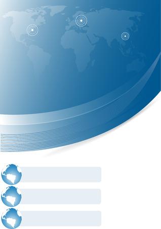 Vector abstract template; clip-art; easy editable Stock Vector - 4940100