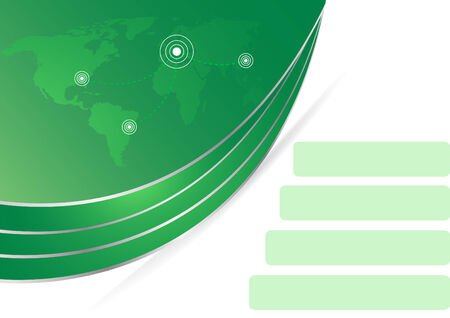 Vector corporate template; clip-art Stock Vector - 4940087