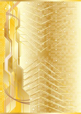 Vector futuristic background; clip-art Stock Vector - 4972144