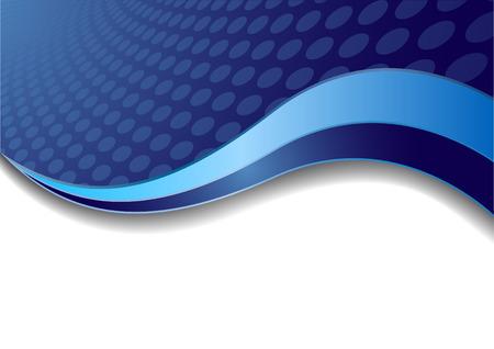 Vector blauwe achtergrond met een cirkel, clip-art