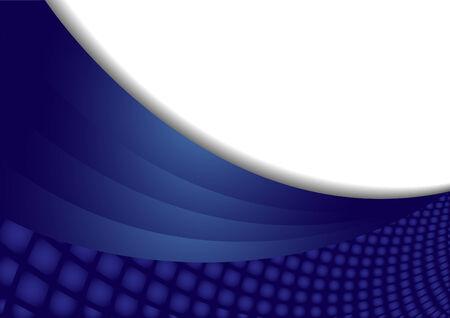 Vector blue abstract background; clip-art Vector