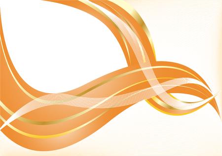 Vector orange background; clip-art Vector