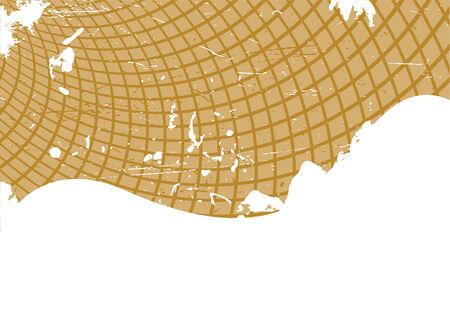 Vector brown grunge template; clip-art Stock Vector - 5166344