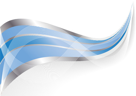 Vector abstract blue background; clip-art Vector