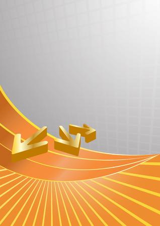 Vector bright template; clip-art Vector