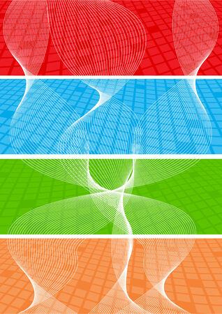 Vector collection banners; clip-art Vector