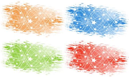 Vector abstract banner; clip-art Stock Vector - 5255297