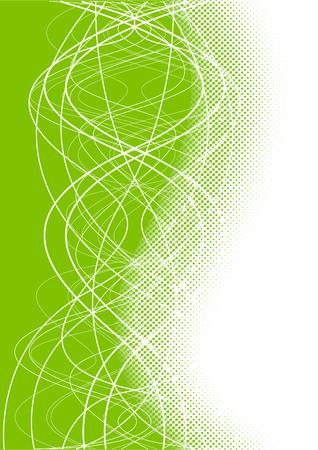 Vector green background; clip-art Stock Vector - 5342519