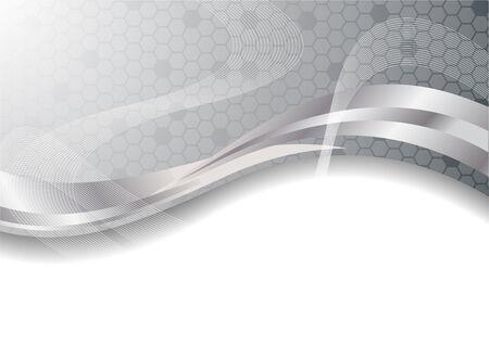 Sfondo argento Vector abstract; clip-art
