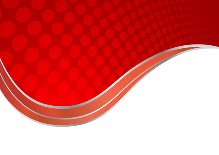 Vector abstract red background; clip-art Vector