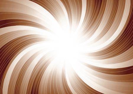 Vector swirl background; clip-art Stock Vector - 5377355