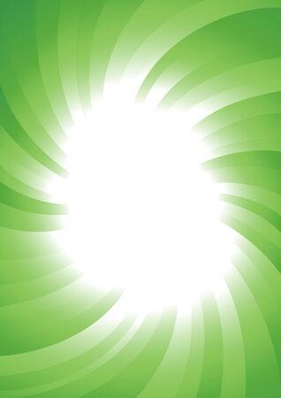 Vector abstract green background; clip-art Stock Vector - 5421293
