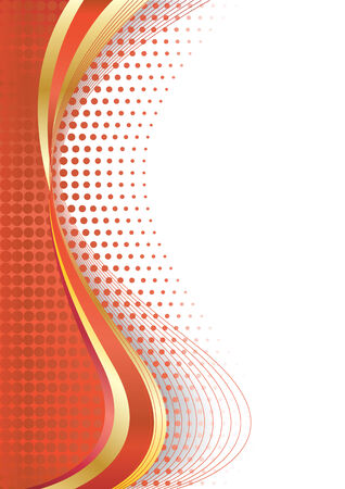 Vector abstract background with circle; clip-art