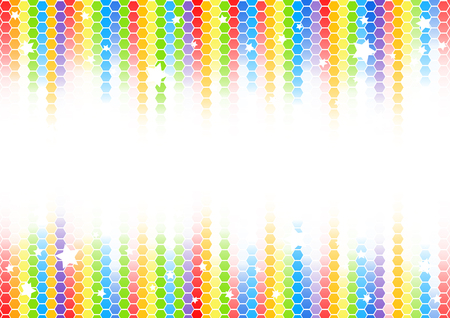 Vector abstract colorful background; clip-art Vector