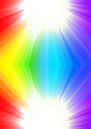 background in rainbow color, clip-art Stock Vector - 5756441