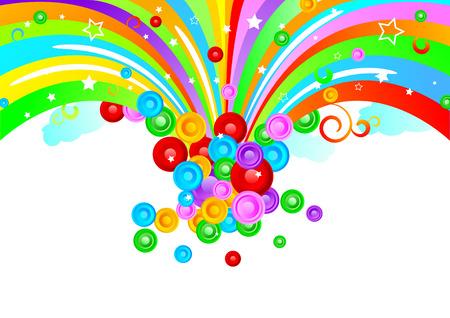 Vector colorful design; clip-art Vector