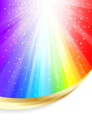 Vector colorful background; clip-art Vector