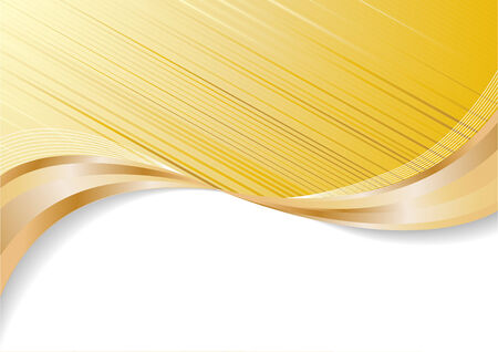 Vector abstract gold background; clip-art Vector