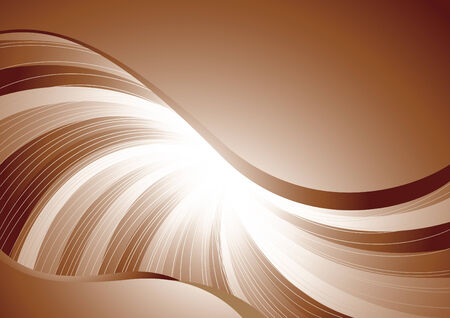 Vector chocolate background; clip-art Vector