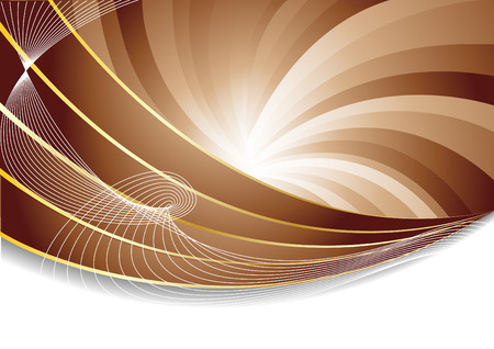 Vector abstract chocolate background; clip-art Vector