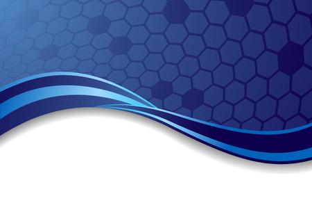 Vecteur abstraite fond bleu. clip-art