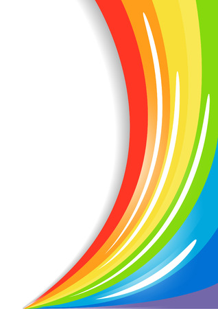 Vector colorful background; clip-art