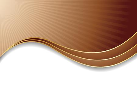 Vector chocolate background; clip-art Stock Vector - 6123362