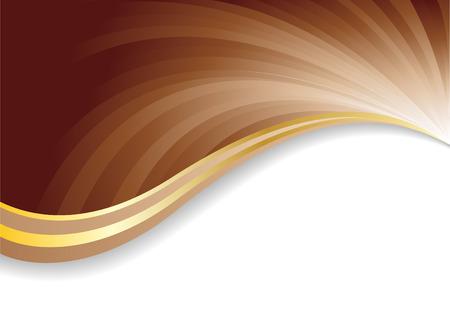 Fondo de chocolate Ilustración de vector