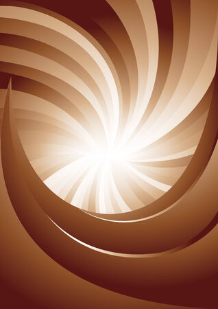 Vector background in brown color; clip-art Vector