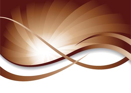 Vector chocolate background; clip-art Stock Vector - 6432403