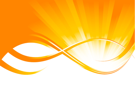 Vector sunny background; clip-art Vector