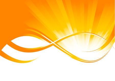 Vektor sonnigen Hintergrund; Clip-art