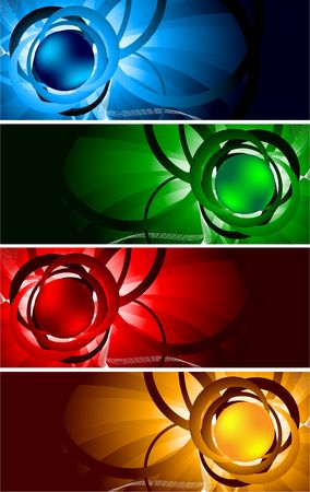bright banners, clip-art Stock Photo - 6584554