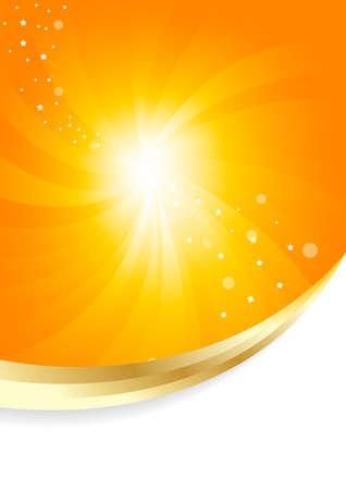 Vector sunny background; clip-art Stock Photo - 6700669