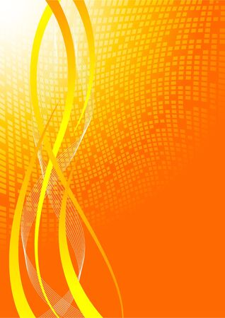 Vector bright background; clip-art Stock Vector - 6700673