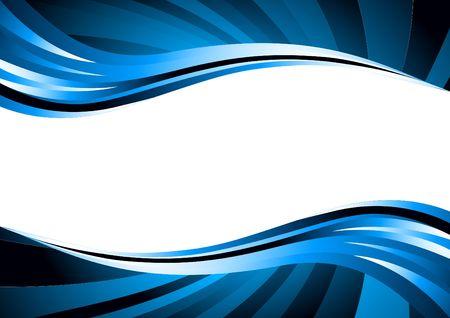 wave background, clip-art Stock Photo - 6845226