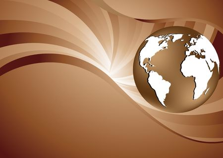 abstract brown background, clip-art photo