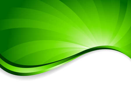 bright background in green color, clip-art Stock Photo - 6996654